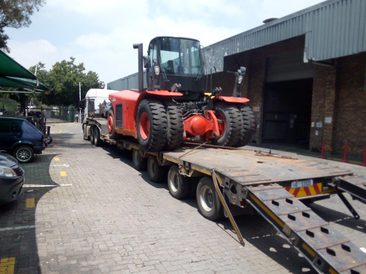 Linde Forklift from ZA to Europe