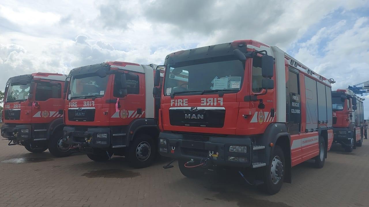 Fire Fighting Equipment to Sri Lanka