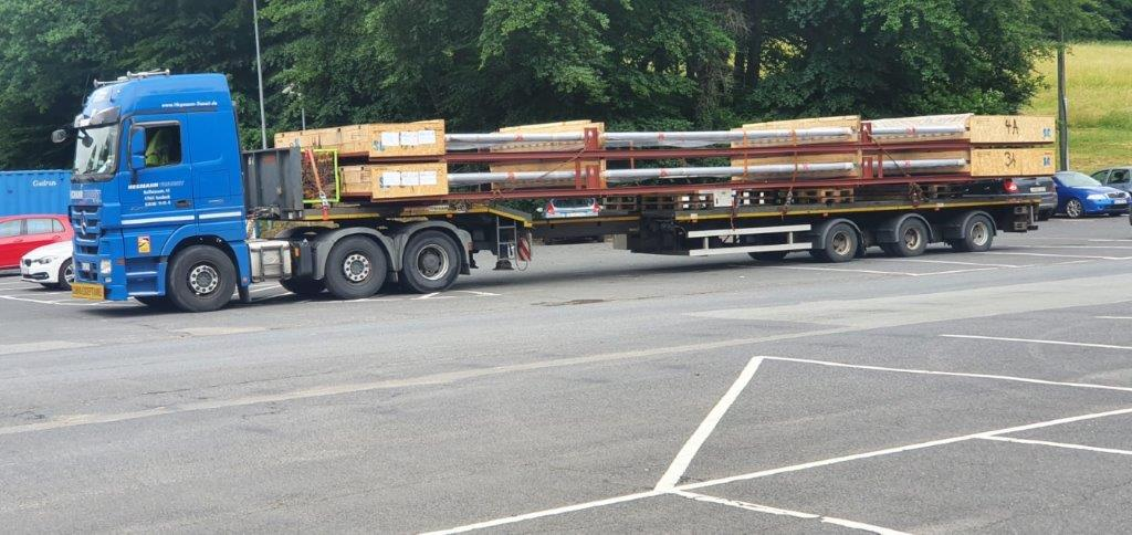 Reformer Parts heading to Persian Gulf